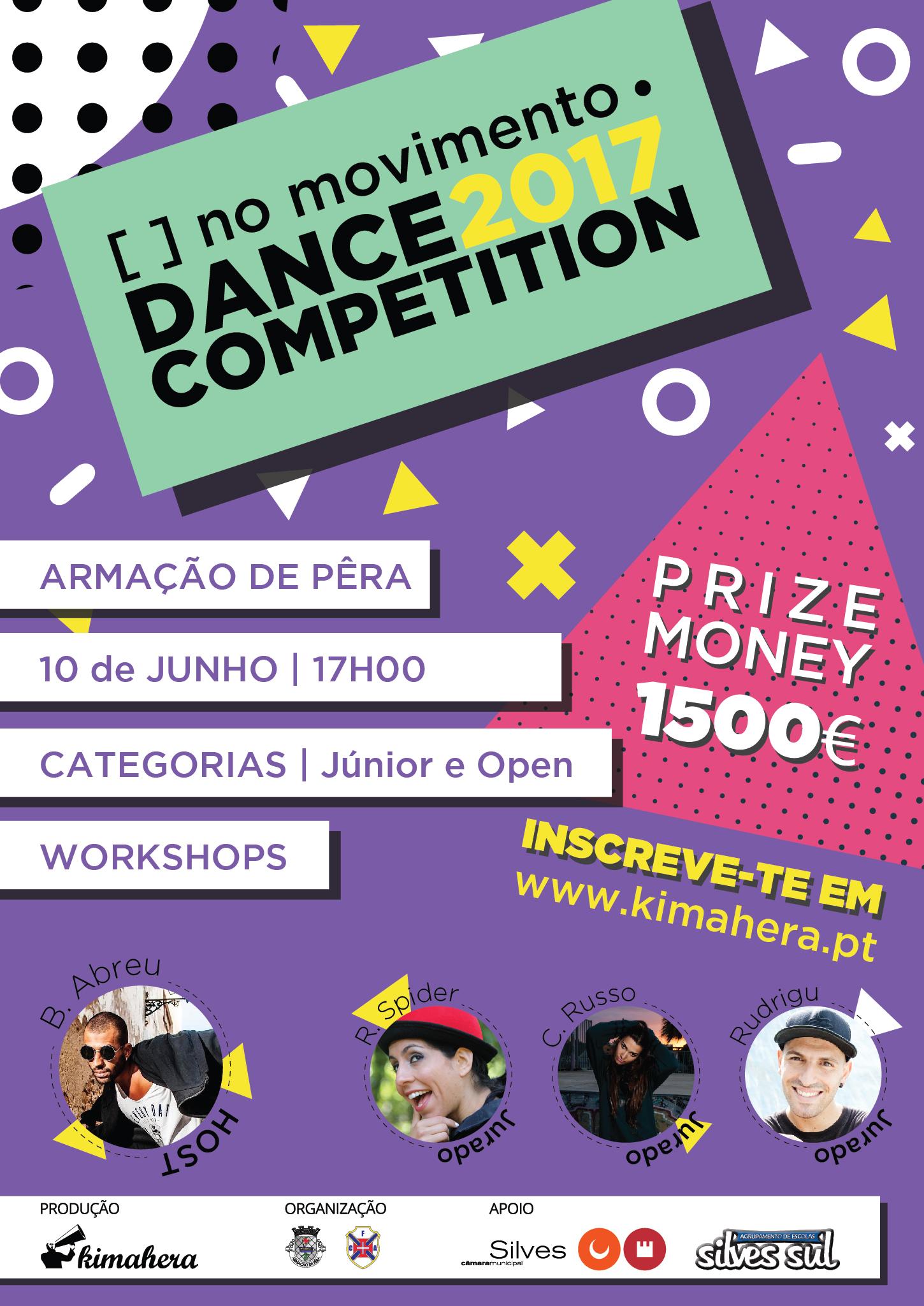 [ ] no movimento . Dance Competition 2017