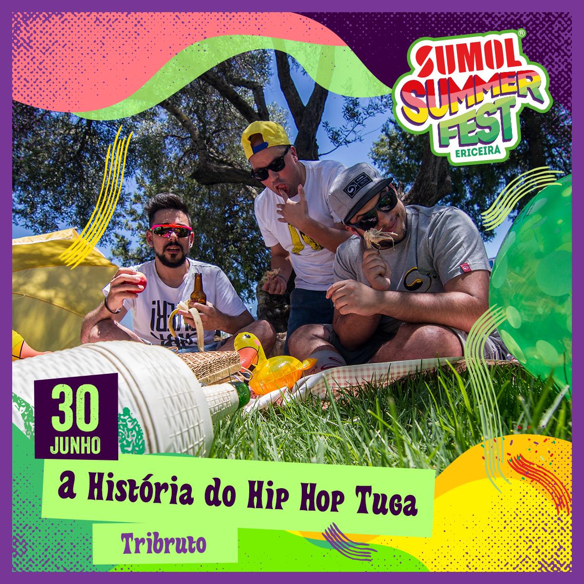 TRIBRUTO @ A História do Hip Hop Tuga no Sumol Summer Fest