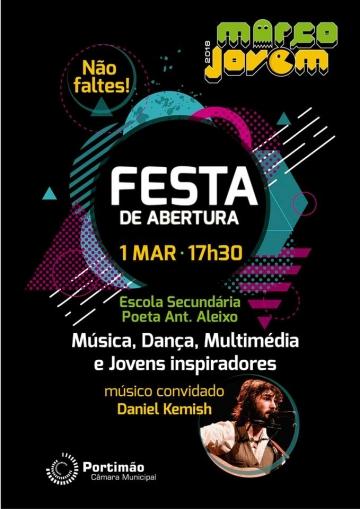 Festa de Abertura do Março Jovem 2018 - Portimão